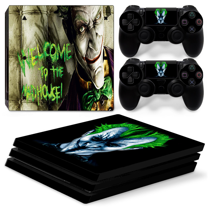 free drop shipping China factory super skin sticker with cheap price for Sony PS4 PlayStation Pro #TN-P4Pro-0065