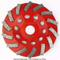 125mm Diamond Grinding Cup Wheel For Concrete 5 Inch Grinding Disc Segmented Turbo Type