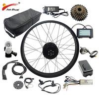 20 26 4.0 Electric Bike Kit 48V 1000W with 48V16AH/20AH/LG26A Battery Fat Tire Rear Motor Wheel Electric Complete Ebike Kit