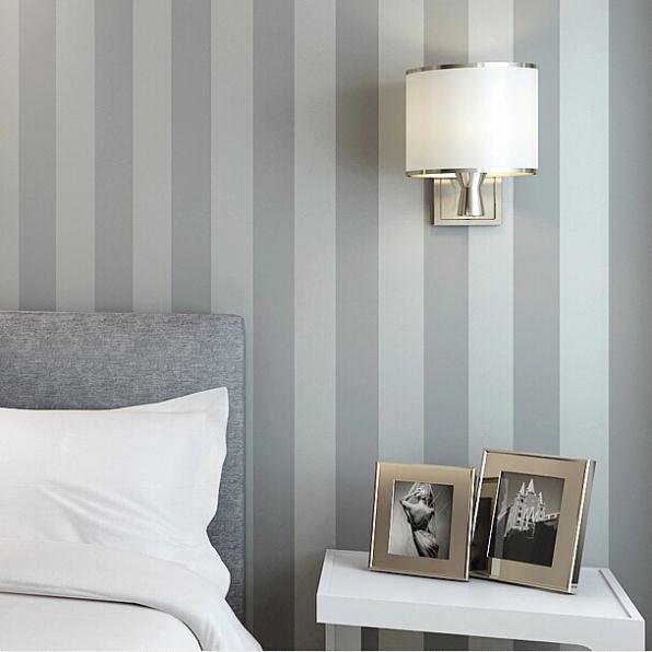 Dormitorios papel pintado interesting ideas para decorar un dormitorio con papel pintado y - Papel pintado dormitorio principal ...