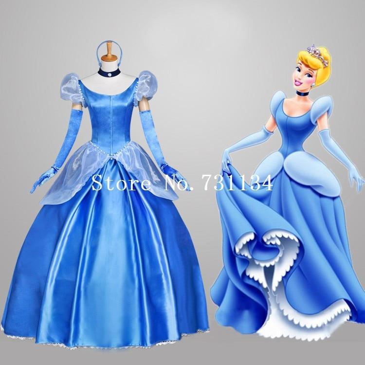 Новинка года; женские маскарадные костюмы принцессы Золушки для взрослых; женское платье принцессы Золушки; костюмы на Хэллоуин