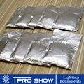 10x200g bolsas de titanio polvo de boda fuegos artificiales máquina de Metal compuesto etapa frío fuegos artificiales con bengalas pirotecnia Ti materiales
