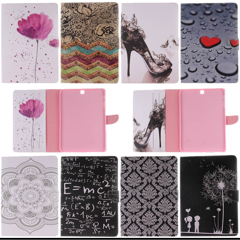 For Samsung Galaxy Tab S2 9.7inch SM-T810 T815 Flip PU Leather Cases cover for samsung tab s2 9.7 case t810 Tablet S4D33D аксессуар чехол samsung galaxy tab a 7 sm t285 sm t280 it baggage мультистенд black itssgta74 1
