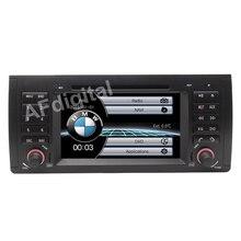 """7 """"HD Capacitive Touch Screen Car DVD Player GPS de Navegação para BMW E39 E53 X5 Radio RDS Bluetooth USB IPOD com o Original BMW UI"""