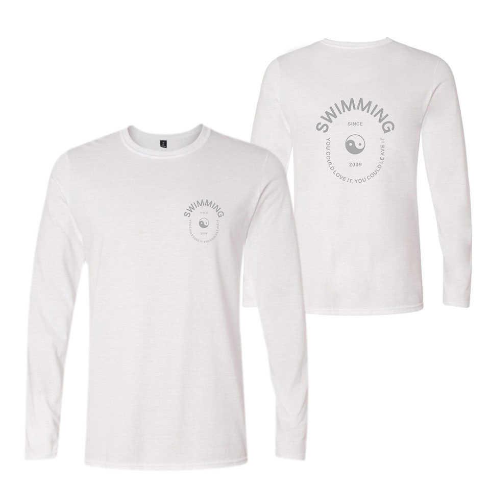 65e7a8c62 ... 2018 Mac Miller Swimming Long Sleeve Tee Shirt Men T Casual Bangtan Hip  Hop Woman Tshirt ...