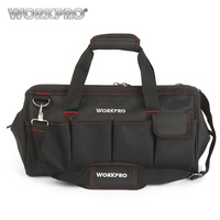 WORKPRO 18 Waterproof Travel Bags Men Crossbody Bag Tool Bags Large Capacity Free Shipping