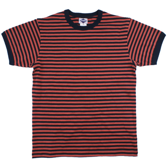 c6951f02c9 Summer Cotton Navy Striped Breton Tshirt Streetwear for Men Women Moto  Clothing Tops T Shirt Mens Slim Fit Heavy T-shirt 2018