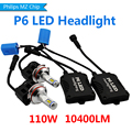 High Power 110W 9004 9007 LED Car Headlight Headlamp Replacement Blub Fog Lamp Conversion Kit 6000K White