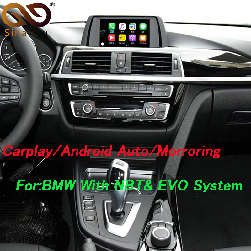 Apple Phone WiFi Android Auto Video Interface for BMW Series