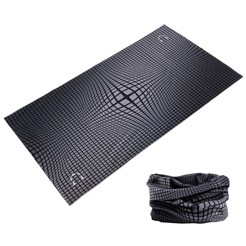 Outdoor Women Men Sports Tactical Mask Headband Seamless Bandanas Magic Tube Headscarf Pirate Scarf Elastic Face Shield  Buffe