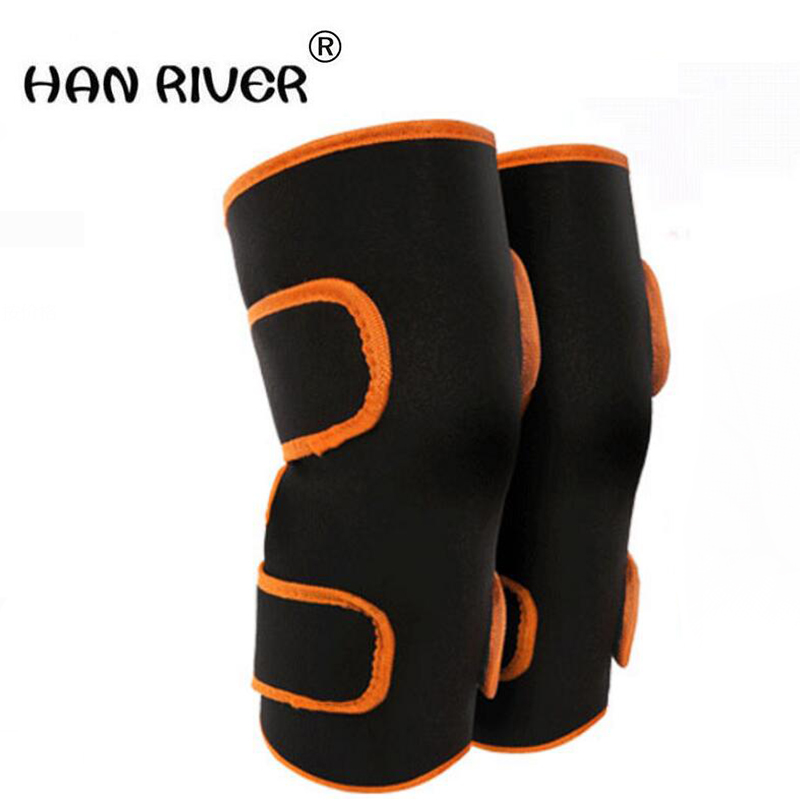 HANRIVER 2018 Electric heating knee joints warm inflammation moxibustion therapy knee heating apparatus leg massager electric knee massager belt leg knee joint moxa moxibustion hot compress rheumatism leggings field heating kneepad support brace