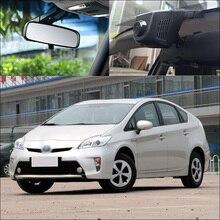 Bigbigroad para toyota prius carro wifi dvr fhd 1080p gravador de vídeo detecção de movimento traço cam tipo escondido g sensor