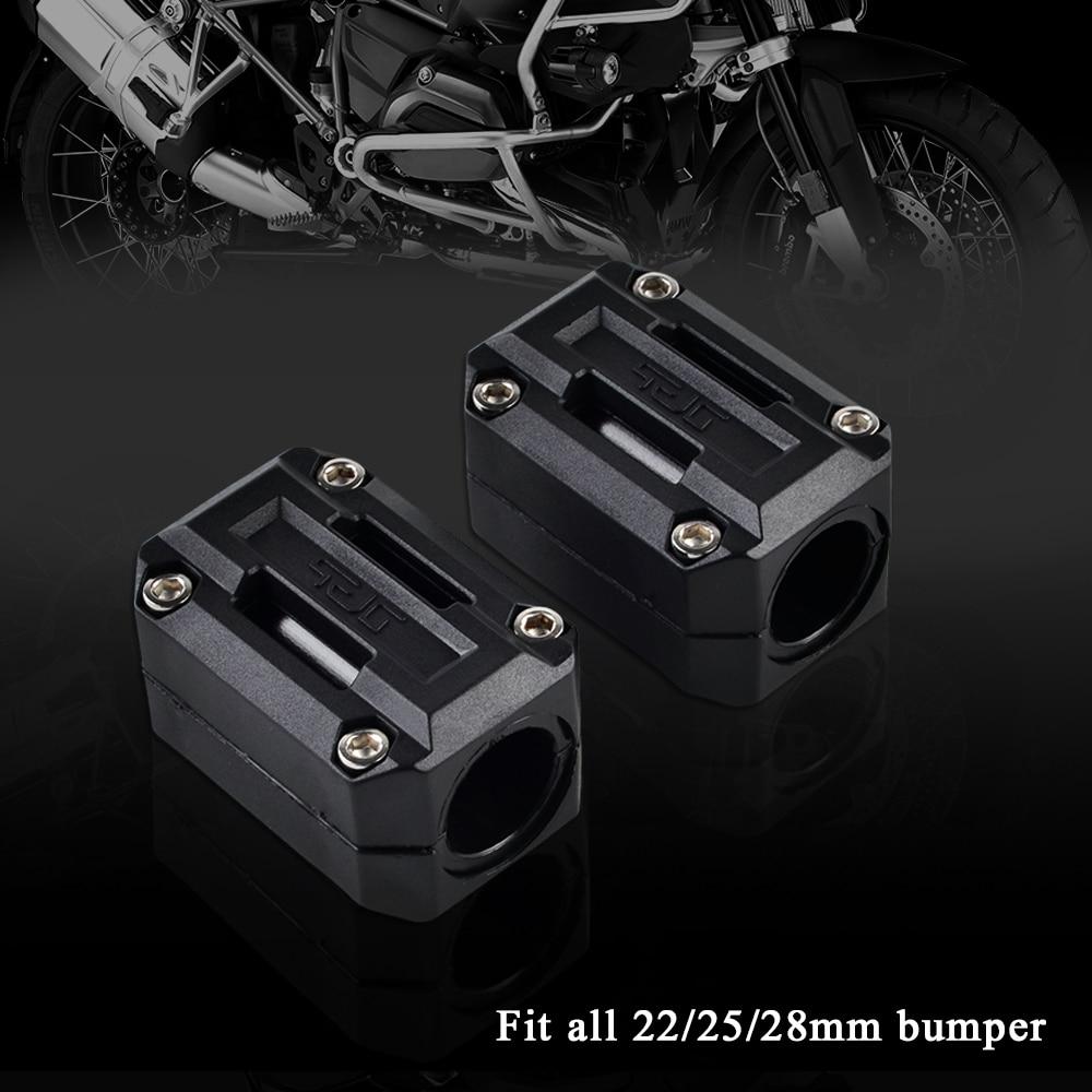 22/25/28mm Engine Protection Guard Bumper Decor Block For Triumph Tiger 800 & XC 955i 1050i Explorer Speed Triple Trophy