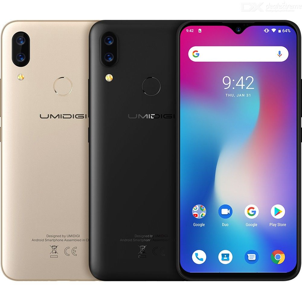 Image 4 - UMIDIGI Power Android 9.0 5150mAh Big Battery 18W 6.3' FHD+ Waterdrop Screen 4GB+64GB Helio P35 Global Version Smartphone 16MP-in Cellphones from Cellphones & Telecommunications