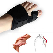 1 Pair Good Quality Soft Big Toe Corrector Bunion Splint Straightener Corrector Foot Pain Relief Foot Care With Best Price