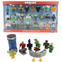 16 Sets Roblox Figure jugetes 7cm PVC Game Figuras Robloxs Boys Toys for roblox-game 2018 roblox figure toys 7cm pvc roblox men game figurine roblox game boys characters toys for children gift