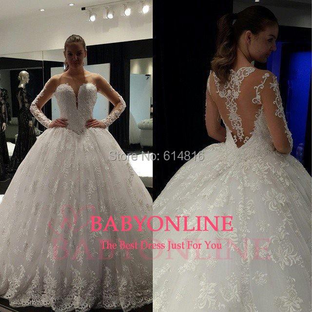 Aliexpress.com : Buy Outstanding Ball Gown Wedding Dresses 2017 ...