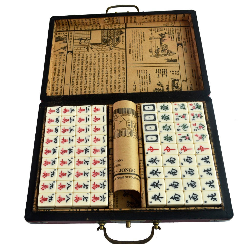 High Quality Sale Chinese Mahjong Board Games For Adults SKU J2021