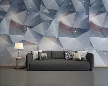 beibehang Custom size wallpaper solid triangle modern minimalist classic background papel de parede 3d wall papers home decor beibehang custom modern modern minimalistic abstract lines geometric classic background papel de parede wall papers home decor