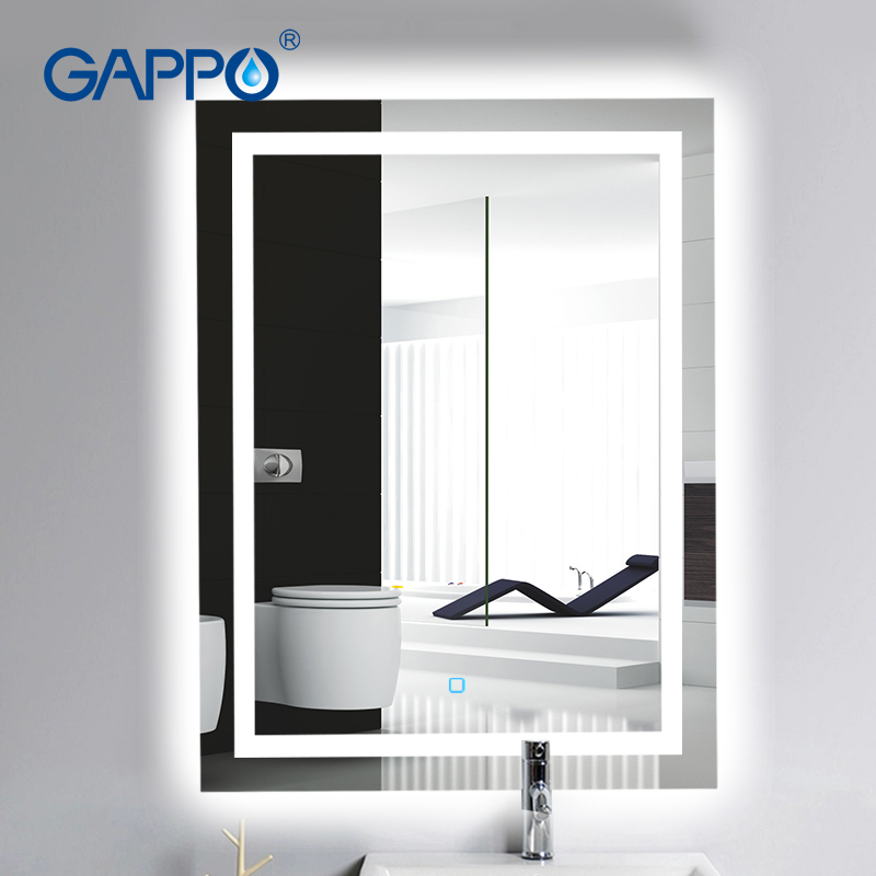 Glamo bath mirrors LED mirrors Light Makeup Mirror lights Bathroom mirrors rectangle 1