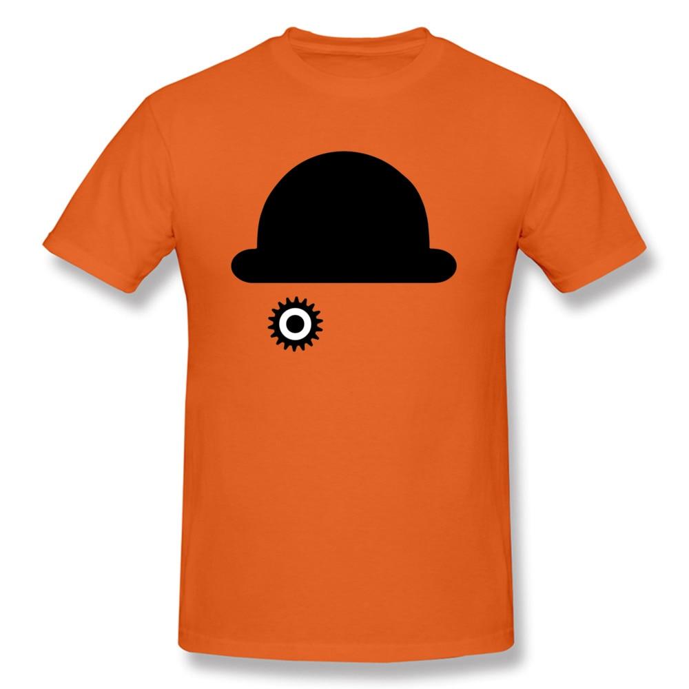 O-Neck Clockwork Orange 23515 100% Cotton Men T-Shirt Casual Short Sleeve Tops Tees 2018 New Camisa Tops & Tees Clockwork Orange 23515 orange