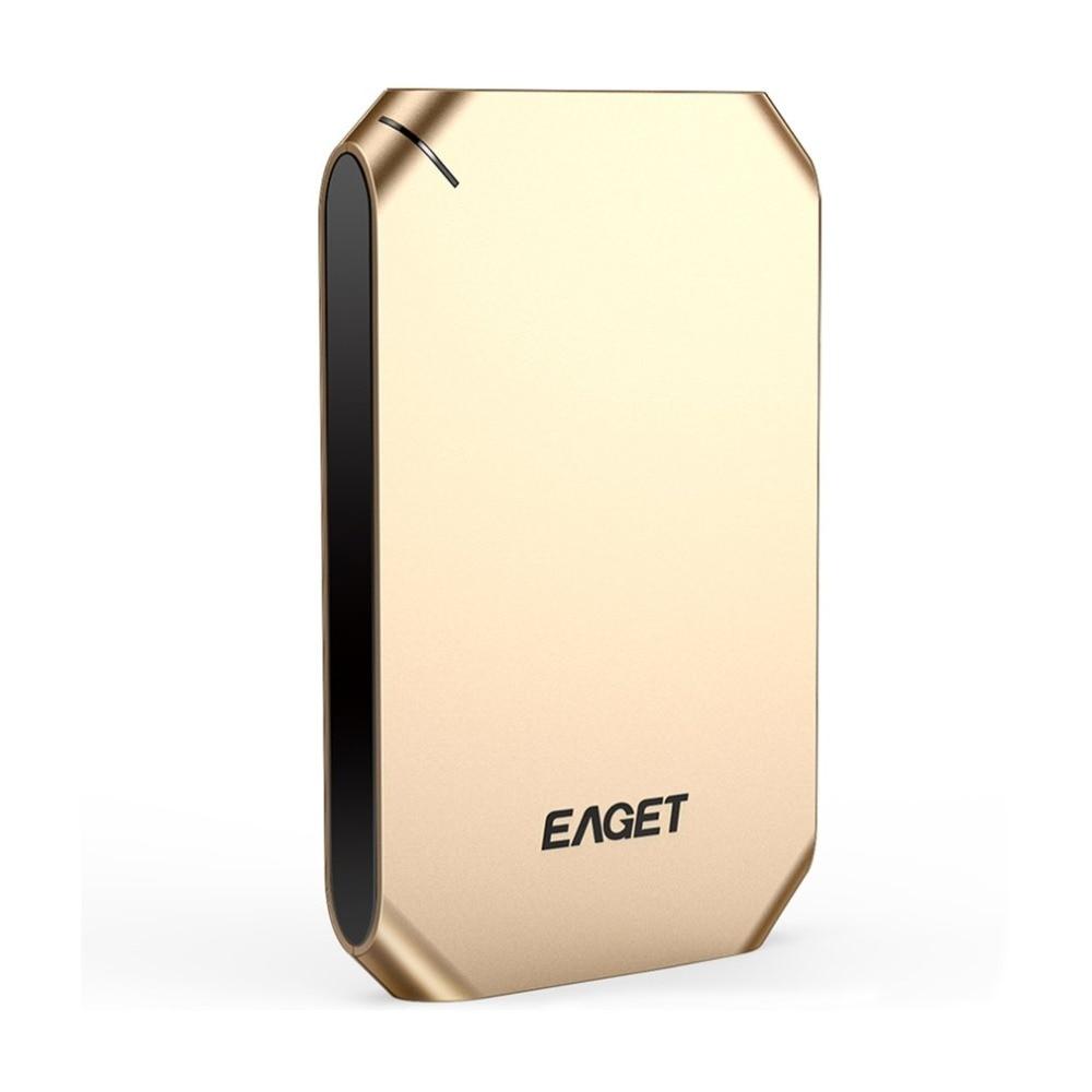 Eaget G60 Externe Festplatte 500 Gb 1 Tb Hohe Geschwindigkeit Usb 3.0 Festplatte Stoßfest Verschlüsselung Mobile Hdd Für Desktop Laptop Externer Speicher Externe Festplatten