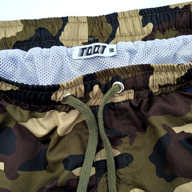 TQQT Men'S Shorts Drawstring Shorts Bermuda De Praia Print Sunga Military Straight Large Size Knee Length Male short 5P0570