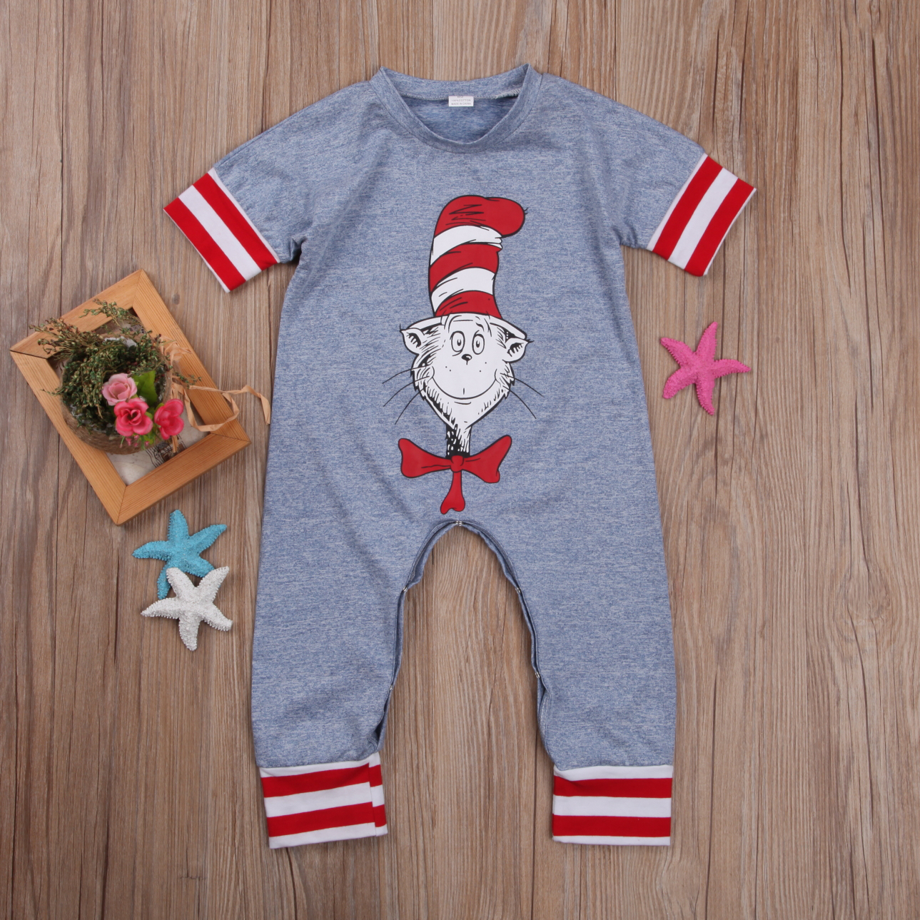 Funny Newborn Infant Baby Boy Girl   Romper   Jumpsuit Clothes Outfits