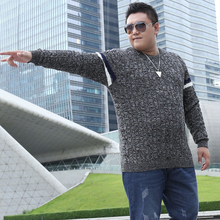 2017 New Men's Fashion Winter Long-Sleeved Large Size Sweater Men Casual Bottoming Sweaters O-Neck Plus Size pullover Knitwear
