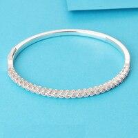 LS высокое качество натуральной 925 silvertimeless элегантность браслет подходят оригинальный Талисманы и Бусины Pulseira encantos.100 % Ювелирные украшения