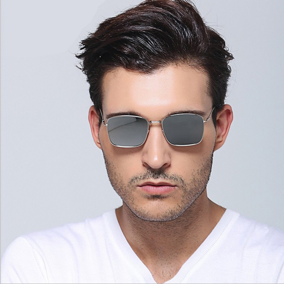 1d5152c41bf BULUN Brand Designer Flat Lens Square Sunglasses Women Men High Quality  Alloy Sun Glasses Unisex Outdoors Oculos De Sol Feminino-in Sunglasses from  Apparel ...