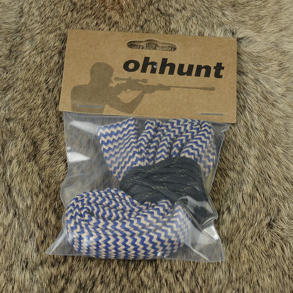 ohhunt Bore Snake .338 .340 Cal GA Gauge Bore snake Shotgun Barrel Bronze Cleaner Kit Hunting Gun Cleaning (1)