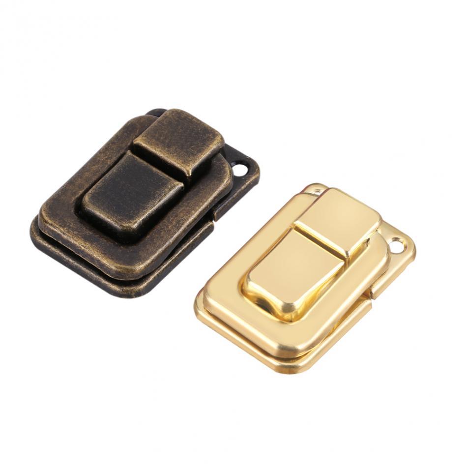 WALFRONT 20pcs/Lot Rectangle Shape Toggle Case Latch Luggage Suitcase Box Bag Catch Closure Lock