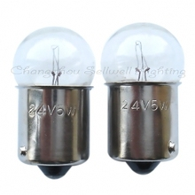 Auto light 24v 5w ba15s g18 B120 GOOD 10pcs
