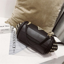 Miyahouse Diamonds Shoulder Bag With Chain For Women PU Leather Luxury Messenger Bag High Quality Crossbody Bag For Female