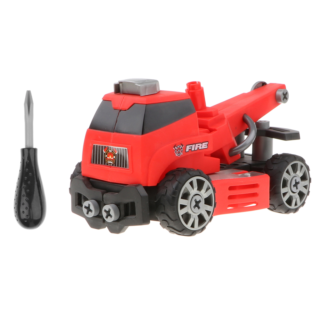 Kids Toddlers Take Apart Toy - Build Your Own Car Kit, Red Crane Truck DIY Assemble Toy, Gift cnc router mini 3040 milling machine 800w water cooling spindle