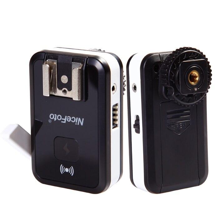 Joli CN-2.4G universel FSK2.4GHz télécommande sans fil Flash déclencheur Set-noir, équipement photographique sans fil Flash déclencheur - 5