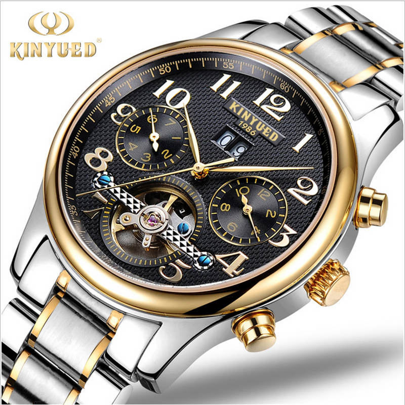Luxury Mens Watches Brand Wrist Watch 1853 Mechanical Date Day 5 Atm Water Resistant Watch All Stainless Steel Light Feminino In Mechanical Watches
