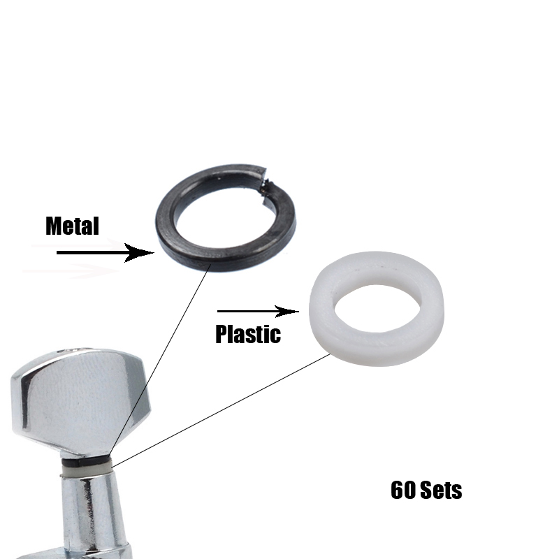 Mounting Ferrules/Gasket/Washers For Guitar Tuning Peg Tuners Machine Heads Replacement
