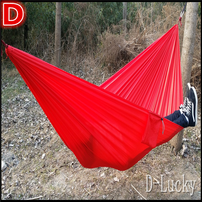 New Portable 300 kg Load-bearing Outdoor Garden Hammock Hang Bed Travel Camping Swing Survival Outdoor Sleeping Free Shipping 2017 portable nylon garden outdoor camping travel furniture mesh hammock swing sleeping bed nylon hang mesh net