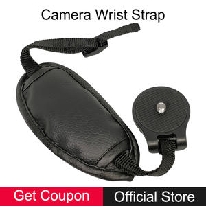 Nikon Universal PU Leather Soft Camera Hand Wrist Grip Strap for Canon