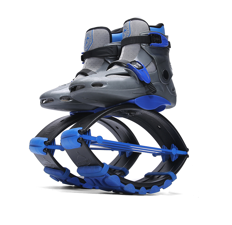 Kangaroo Sneakers Unisex Jumping Boots Jumping Shoes Bounce Sneakers Sports Jumps Workout Fitness Gym Shoes Outdoor Sports Shoes