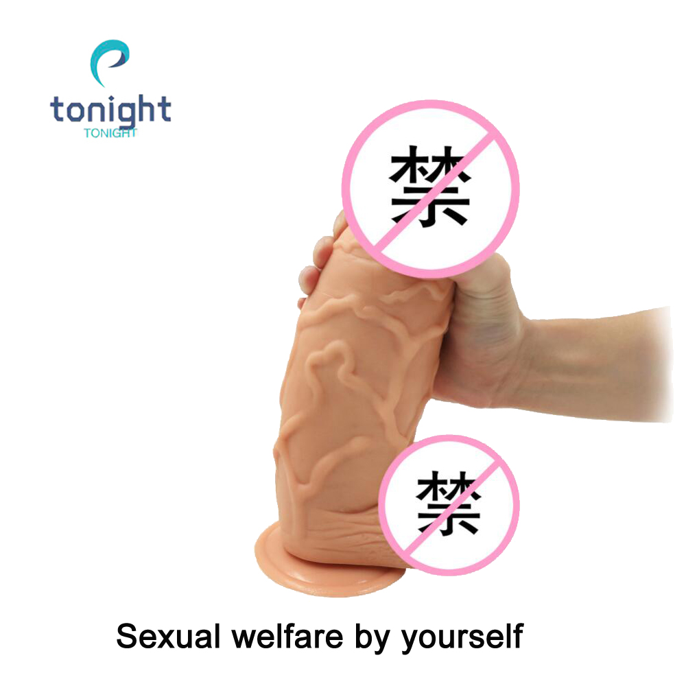Énorme gode réaliste pénis ventouse cheval chair pénis gelée douce gode artificiel Masturbation bite sex toys pour femme
