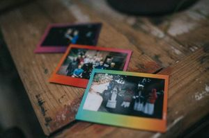 Image 4 - Genuine Fujifilm Instax Wide Film Rainbow 20 Sheets Photo Paper For Fuji Instant Camera 300 / 200 / 210 / 100 / 500AF