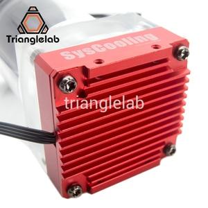 Image 4 - مجموعة أدوات تبريد المياه من trianglelab Titan AQUA لتقوم بها بنفسك طابعة ثلاثية الأبعاد لطابعة E3D Hotend Titan الطارد لمجموعة ترقية طابعة TEVO ثلاثية الأبعاد