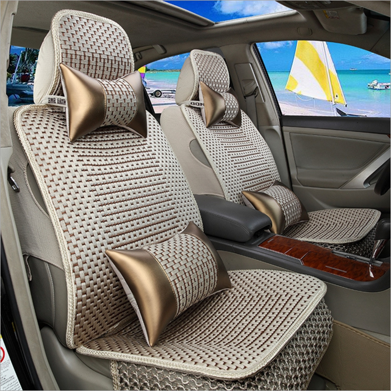 DINGDIAN 5 Seat Universal Car Seat Cover Car Styling Fit