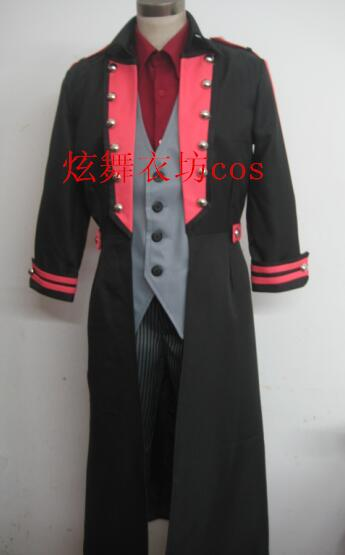 2012 Kamen Rider CAIM Kumon Kaito Cosplay Costume Anime Custom Made Uniform image