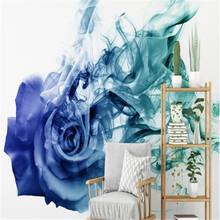 beibehang wall papers home decor Custom Modern Abstract Nordic Rose Mural Wallpaper TV Background wallpaper for kids room behang
