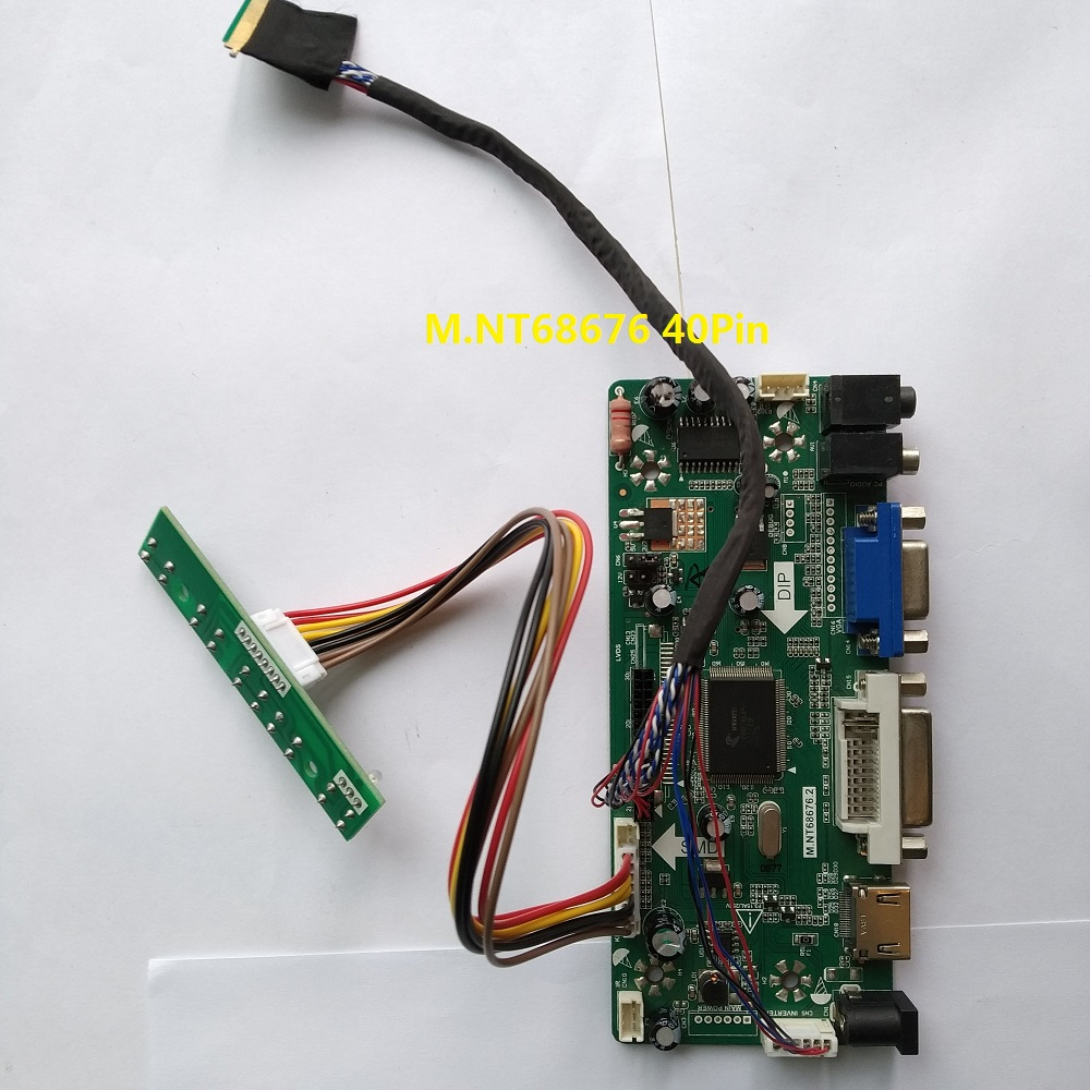 For BT156GW02 V.0 Controller Kit DVI LVDS 1366X768 VGA HDMI Monitor Card 15.6