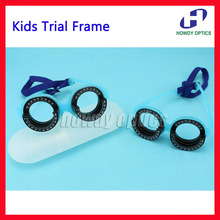 Kids Comfortabele Optische Pasbril Vaste Pd 48 56 Voor Kinderen Paslens Frame Optometrie Vision Test Licht Gewicht